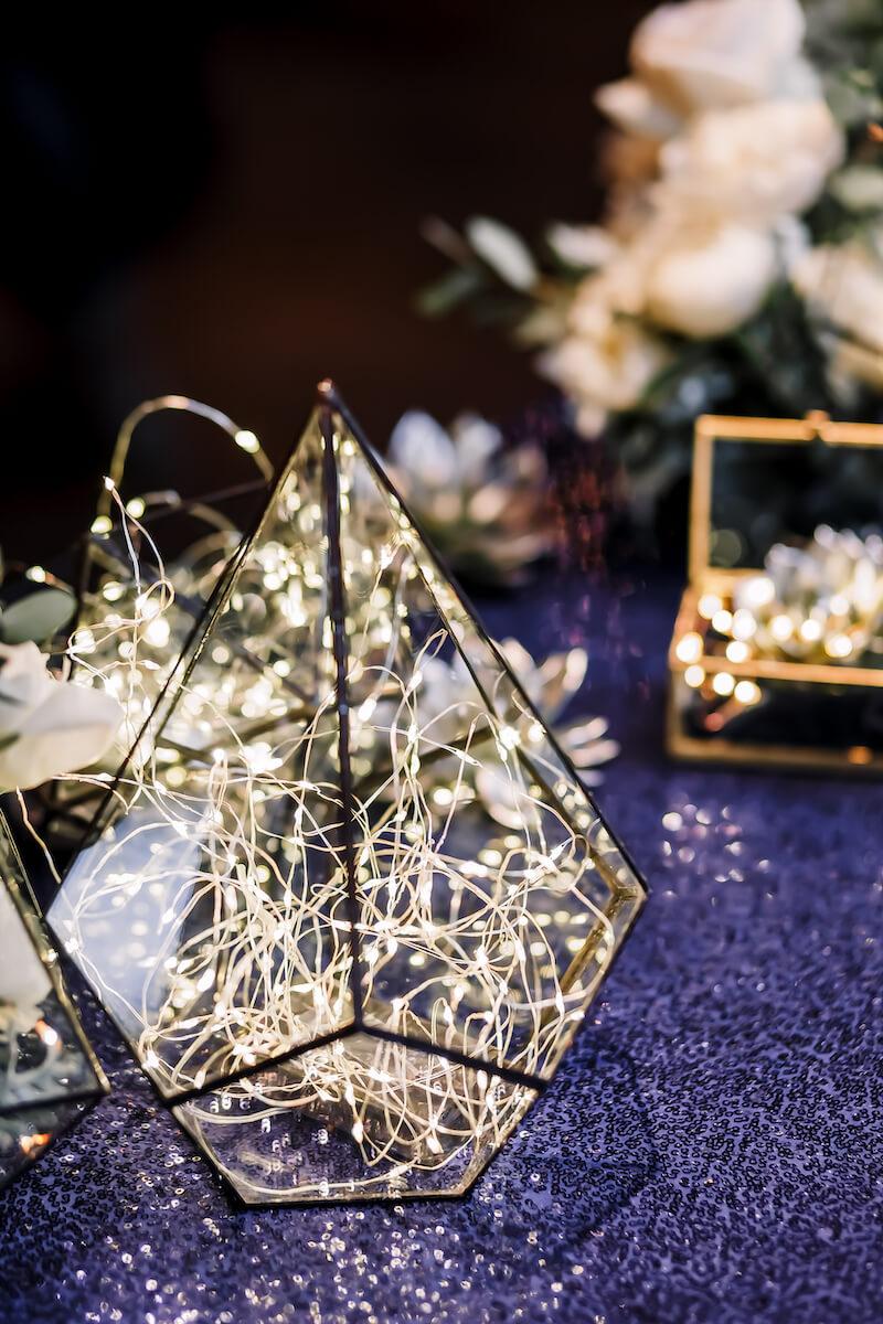 Lichterdeko Hochzeit