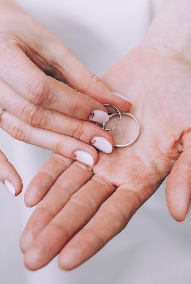 Hochzeitsnägel Ideen