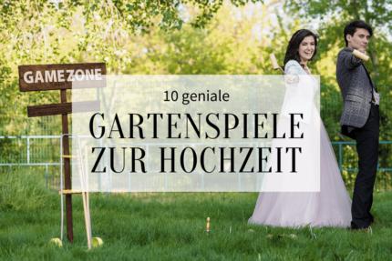 Gartenspiele Hochzeit