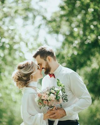 Heiraten im Einklang mit der Natur