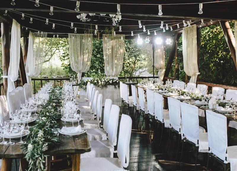 Greenery Hochzeit Dekoration