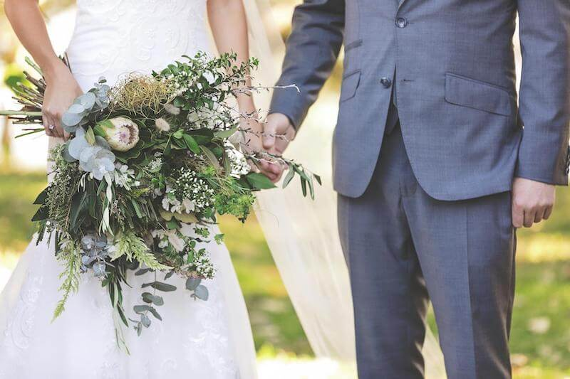 Nachhaltige Hochzeit