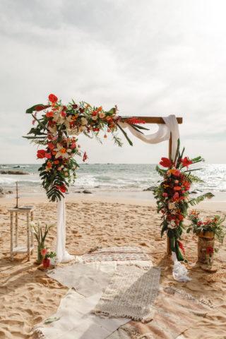 Tropical Wedding Hochzeitsbogen