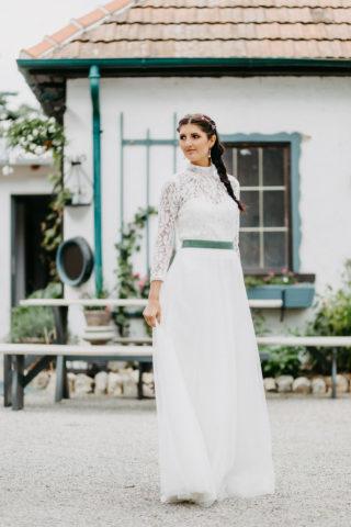 Brautkleid rustikal, ähnlich wie Dirndl