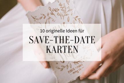 Ideen Save-the-Date Karten