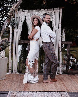 Boho meets Country Hochzeit