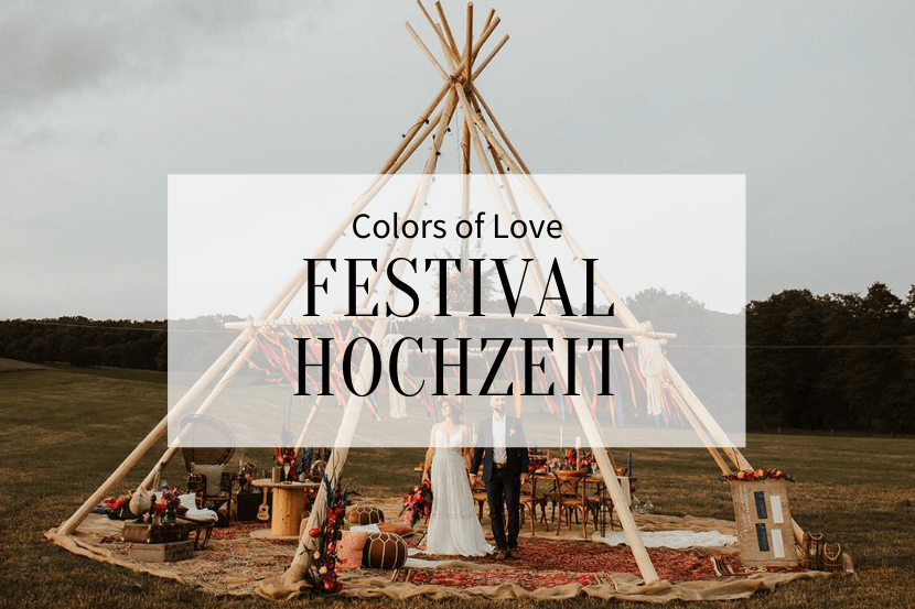 Colors of Love Festival Hochzeit