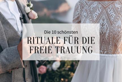 freie Trauung Rituale