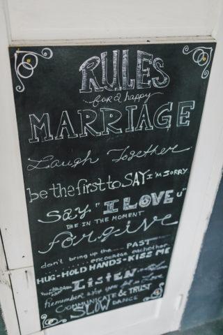 Hochzeitschilder Tafel