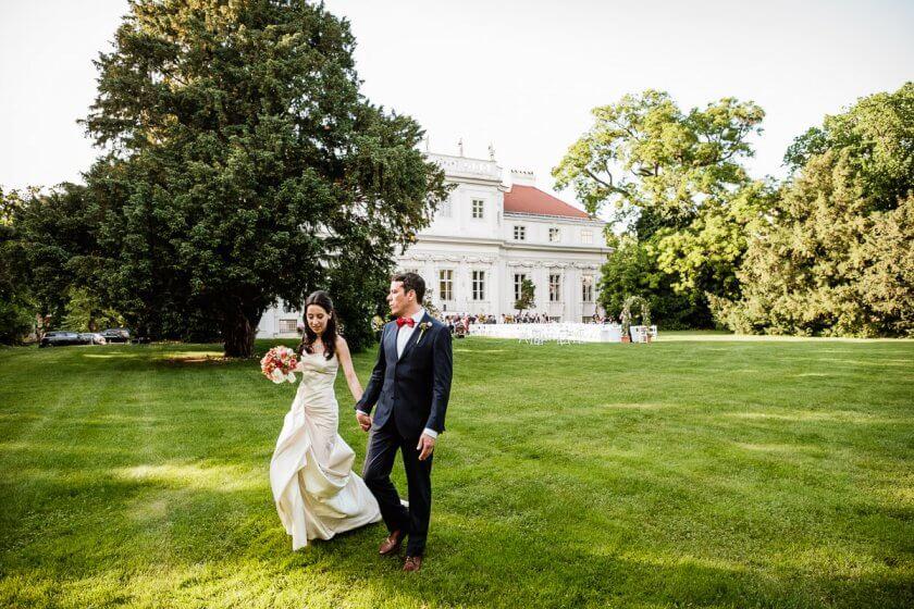 Hochzeit im Freien, Palais Schönburg