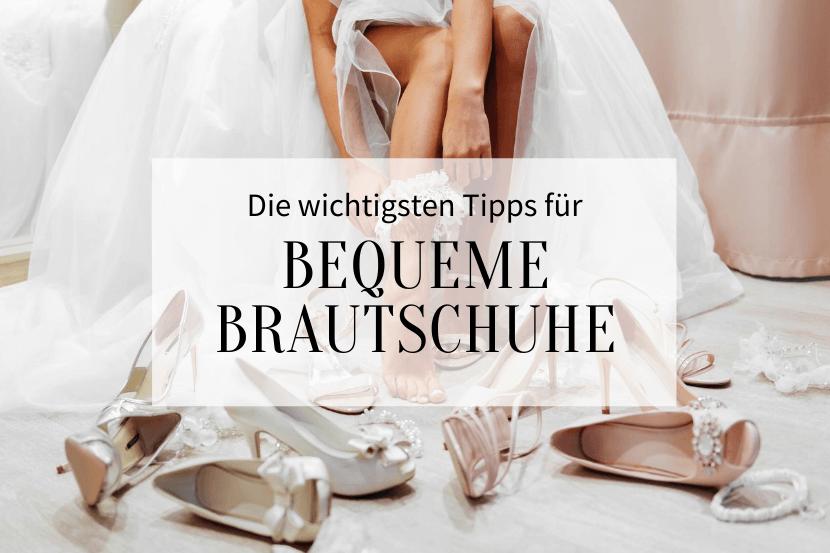 bequeme Brautschuhe