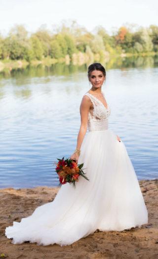 Braut mit orientalischen Akzenten