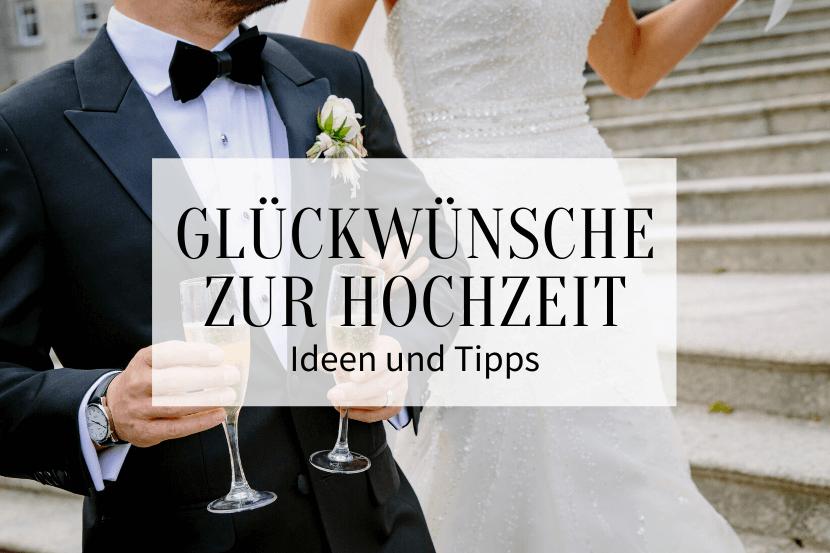 Glückwünsche zur Hochzeit