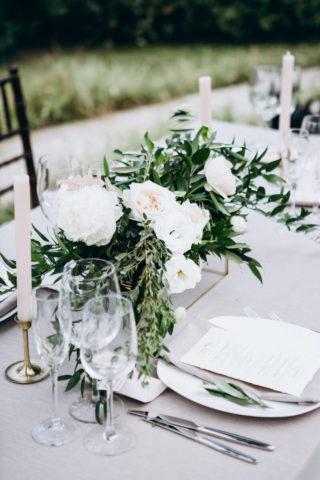 Hochzeit Tischdeko elegant