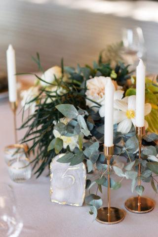 Hochzeitsdeko modern chic
