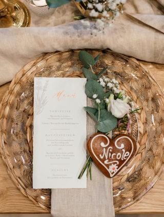 Lebkuchen Tischkarte, Foto: Anna Mardo