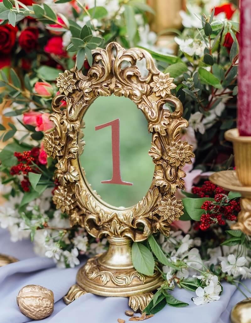 Spiegel Tischnummer