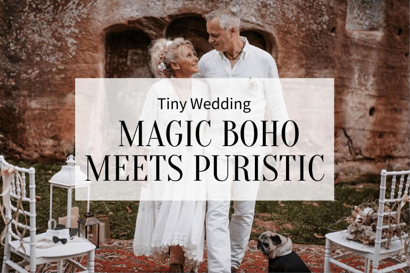 Tiny Wedding Boho