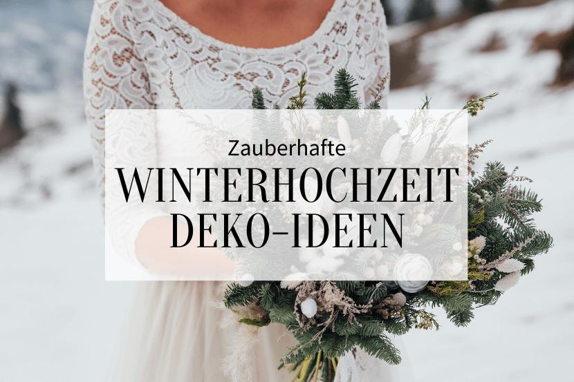 Winterhochzeit Deko Ideen