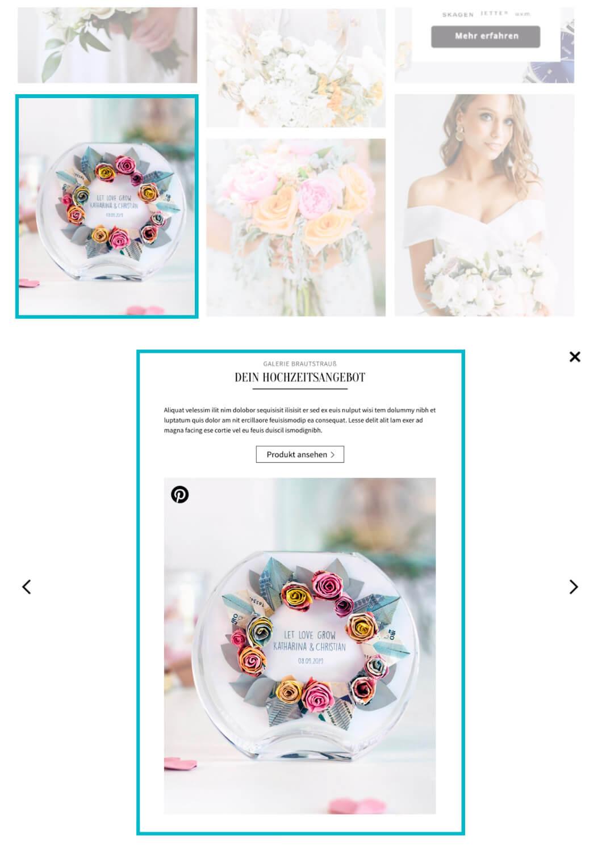 Hochzeitskiste Bildergalerie