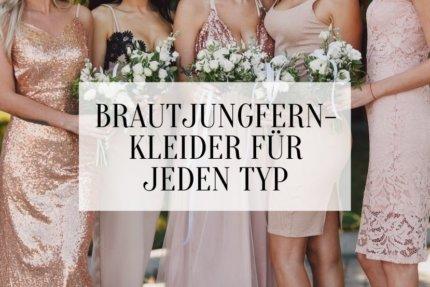 Brautjungfernkleider für jeden Typ, Tipps Brautjungfernkleider