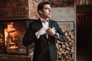 Bräutigam Elegant Rustic Wedding