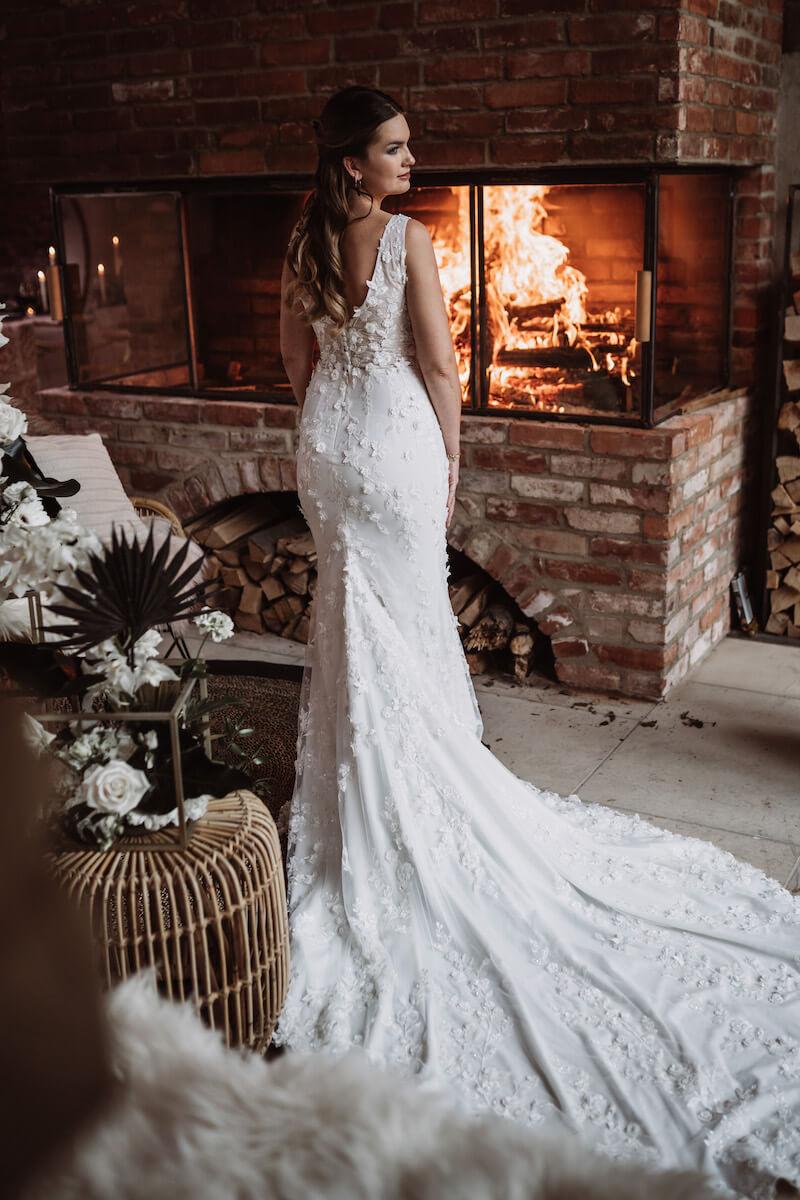 Brautkleid Elegant Rustic Wedding