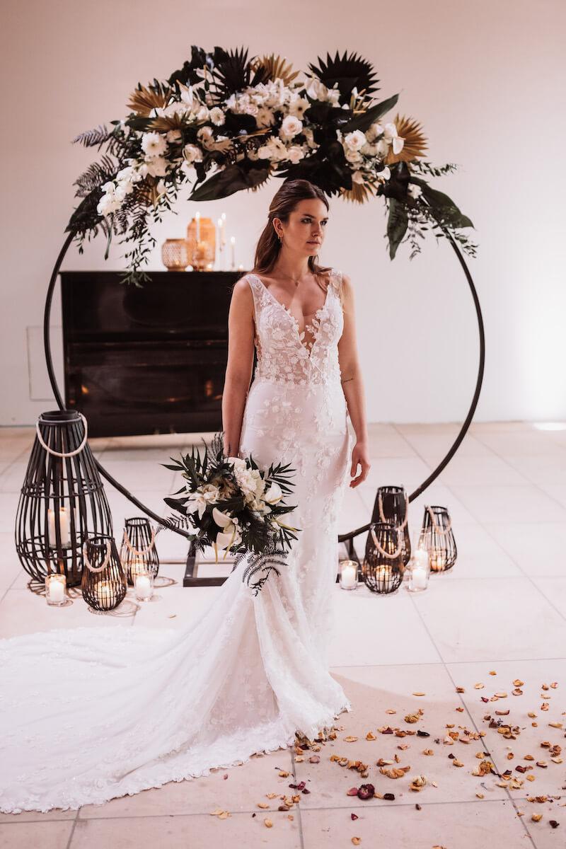 Hochzeitsbogen Elegant Rustic Wedding