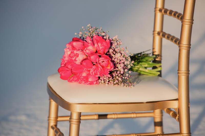 Edgy meets Pink: Rockige Hochzeit - Brautstrauß