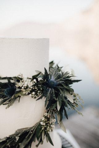 Hochzeit am See - Tortendeko