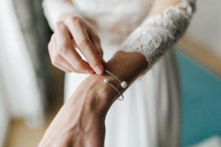 Hochzeit auf einem Schiff - Brautschmuck