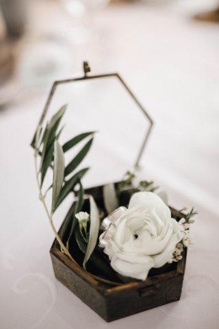 Hochzeit auf einem Schiff - Ring Schatulle