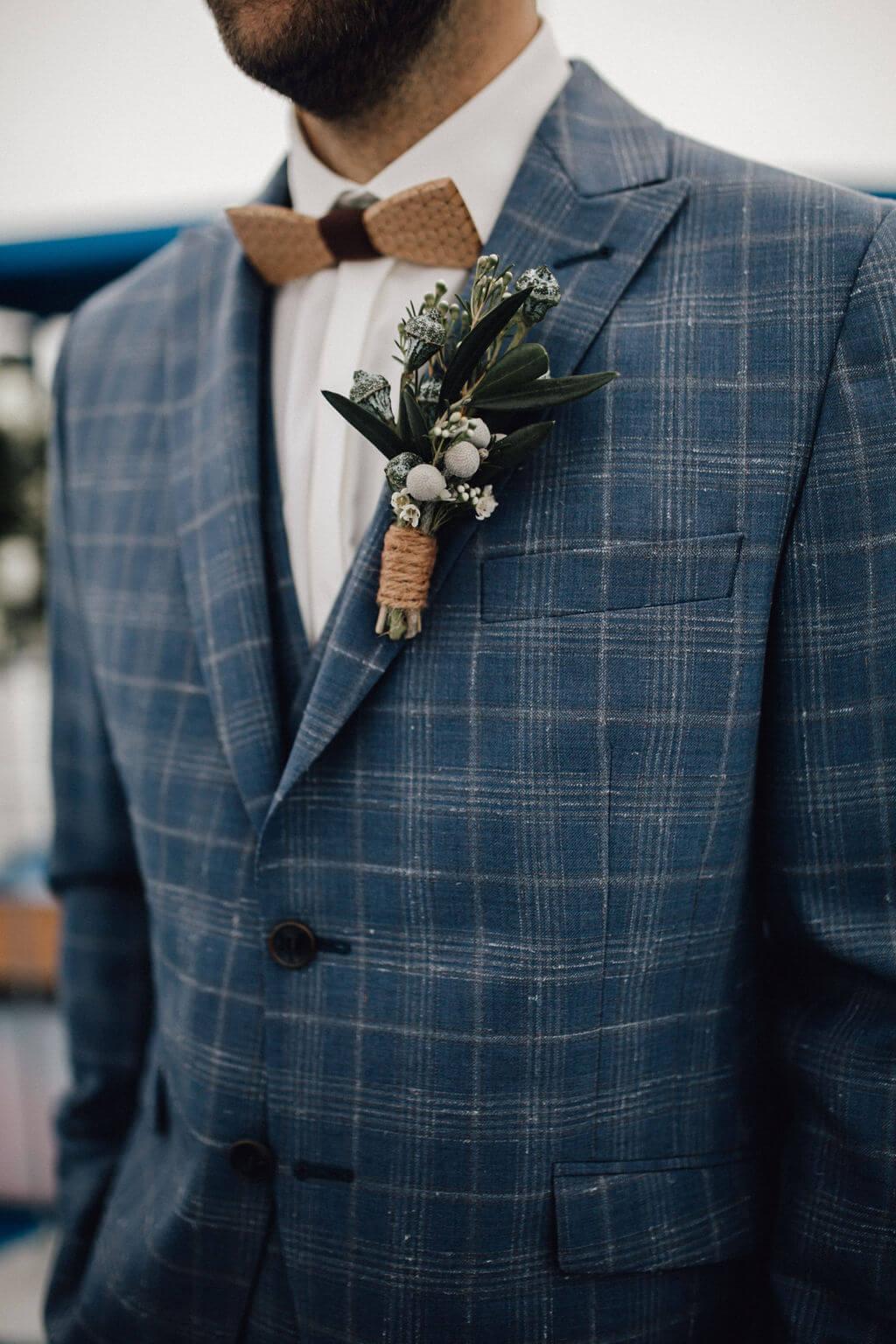 Hochzeit auf einem Schiff - Bräutigam Outfit