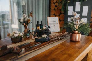 Hochzeit in den Bergen: Deko-Details für Winterhochzeit