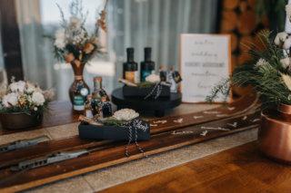 Hochzeit in den Bergen: Gewürzsalz als Gastgeschenk