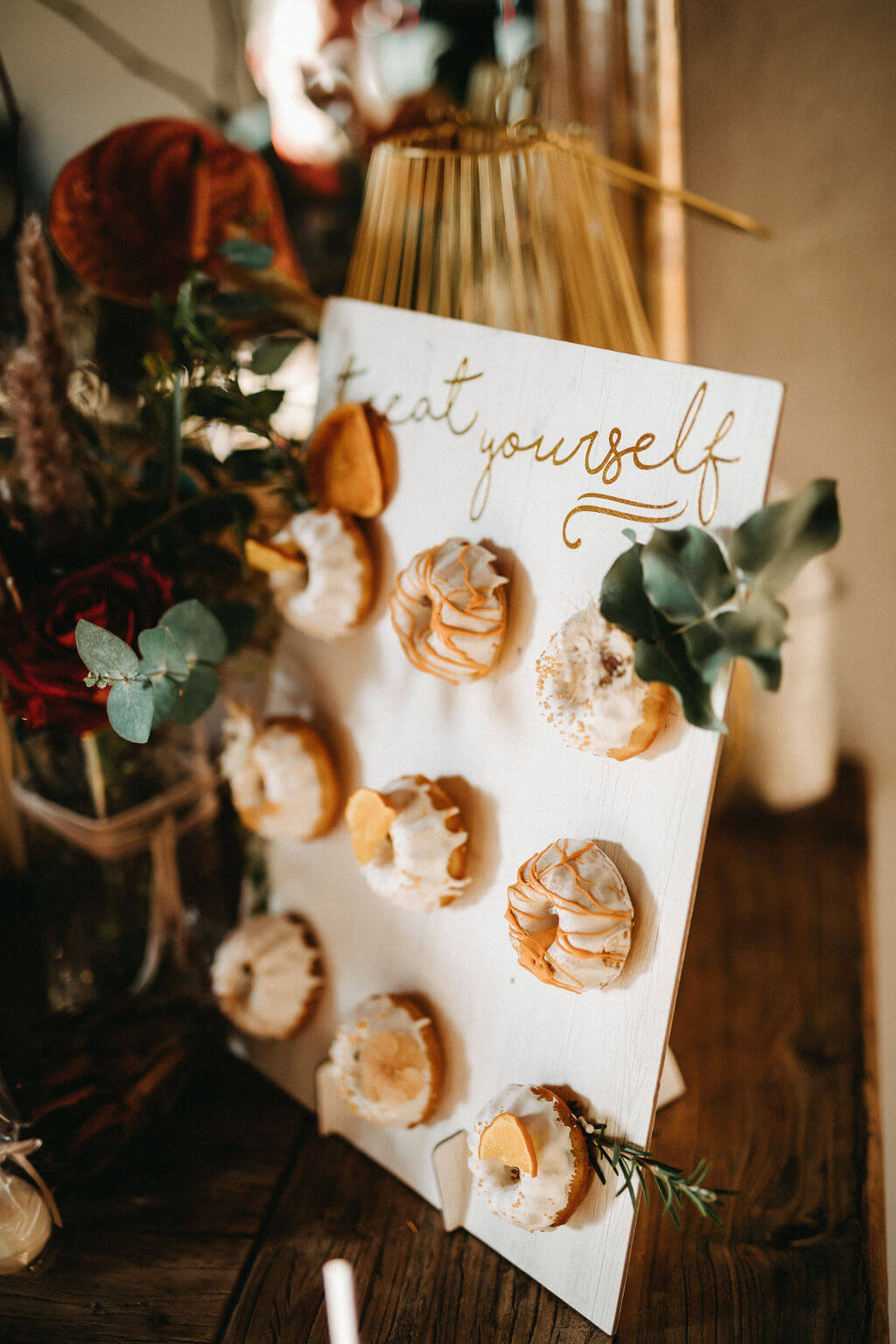 Rustikale Märchenhochzeit - Sweet Table