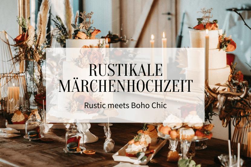 Rustikale Märchenhochzeit - Titelbild
