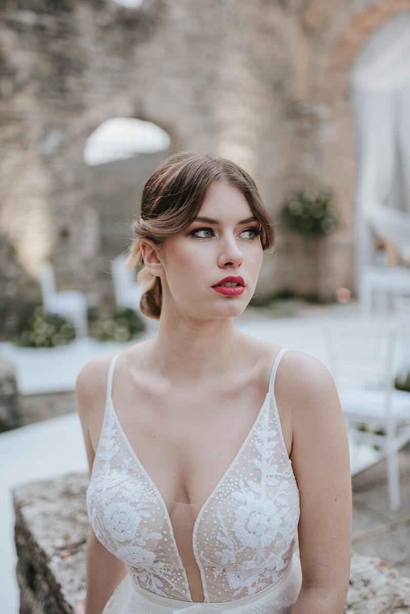 Elopement Wedding in Kroatien - Die Braut