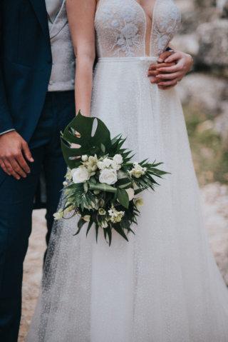 Elopement Wedding in Kroatien - Brautstrauß
