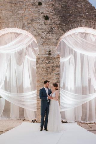 Elopement Wedding in Kroatien - Brautpaar