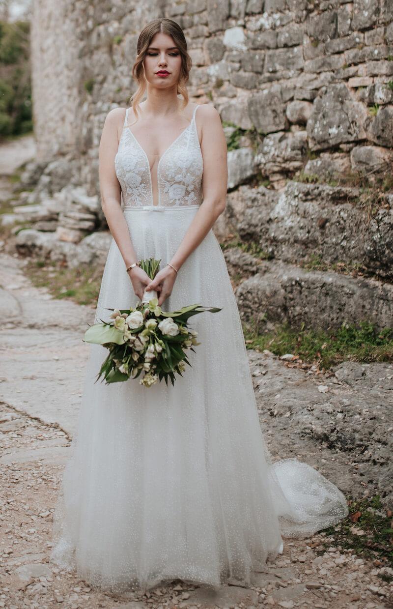 Elopement Wedding in Kroatien - Brautkleid