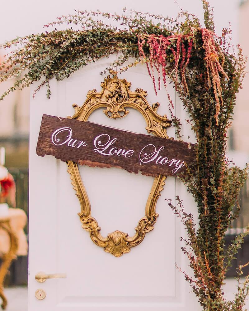 Erzählt eure Lovestory auf eurer Hochzeitshomepage