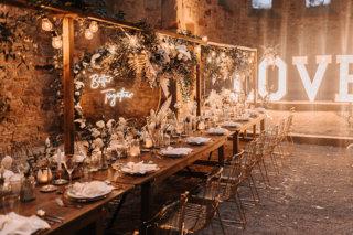 Highland-Hochzeit - Hochzeitstafel