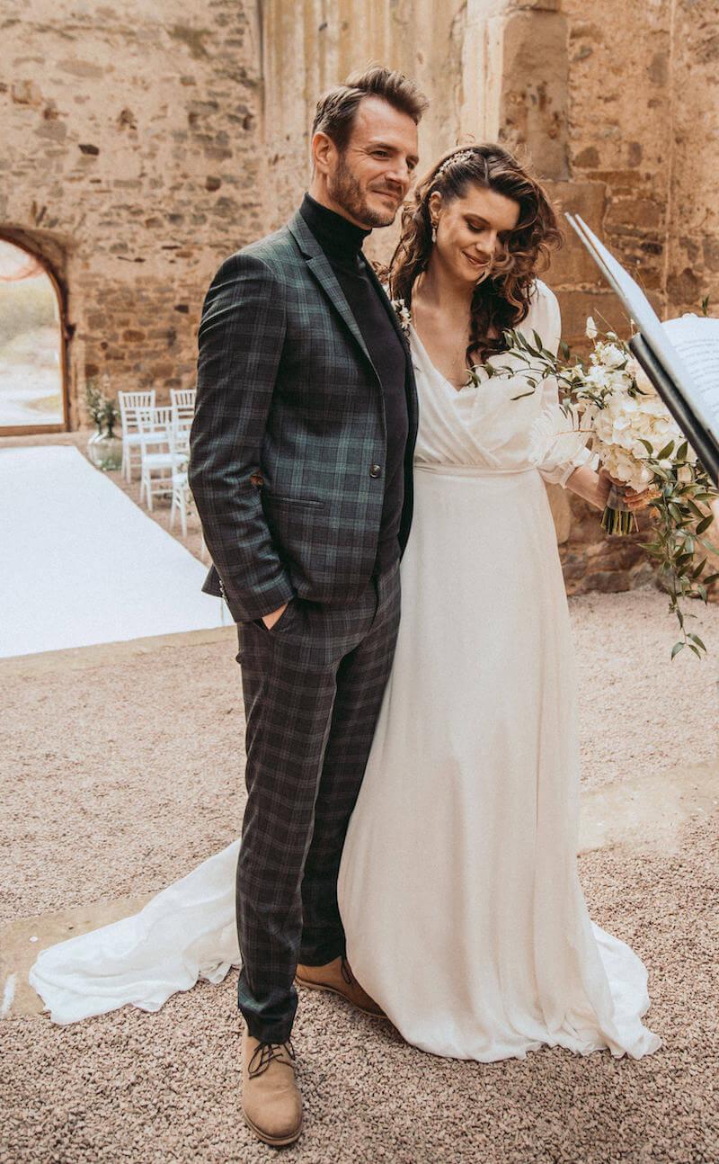 Highland-Hochzeit - Bräutigam Outfit