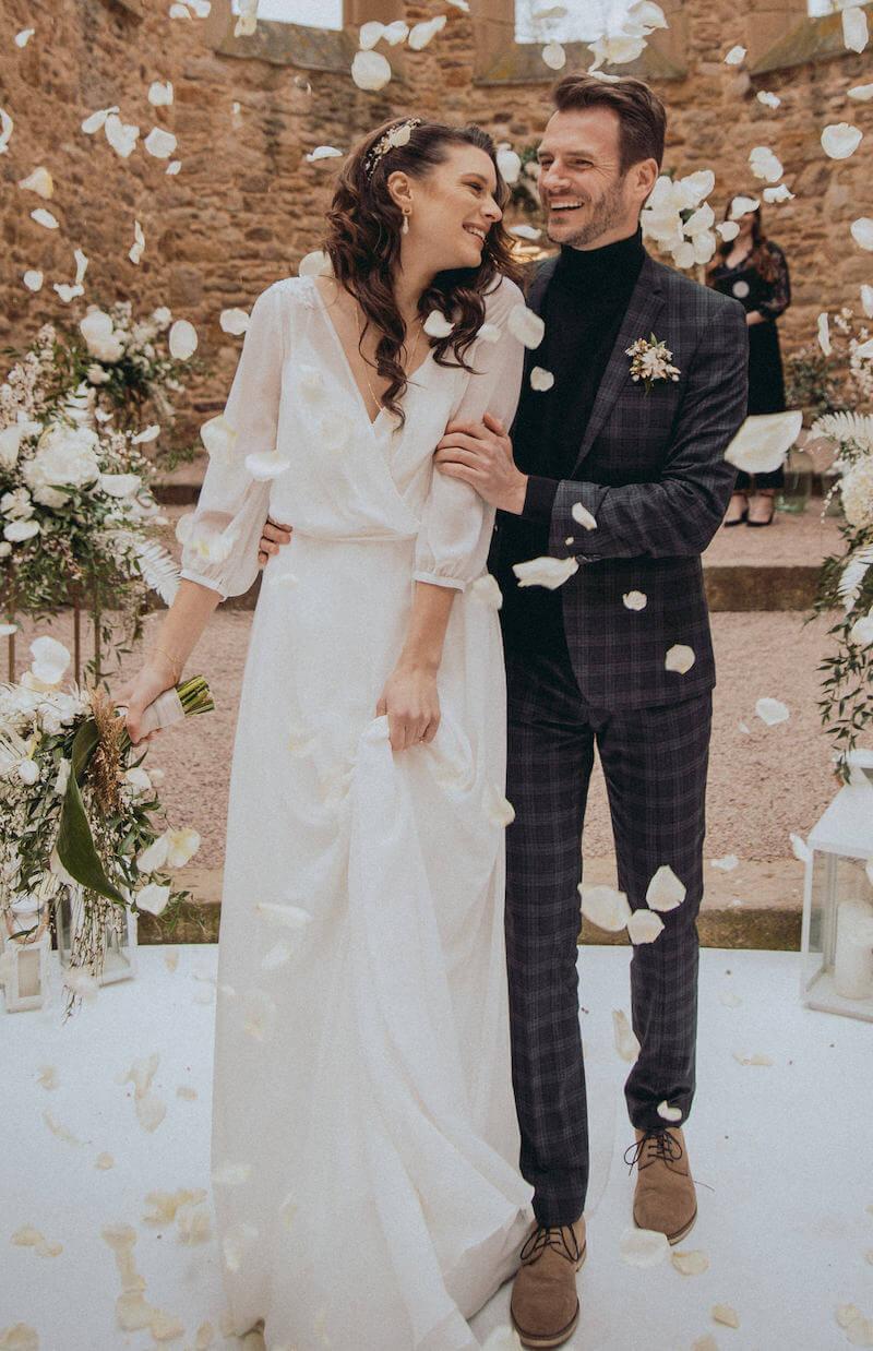 Highland-Hochzeit - Brautkleid