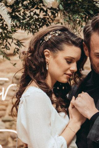 Highland-Hochzeit - Brautfrisur