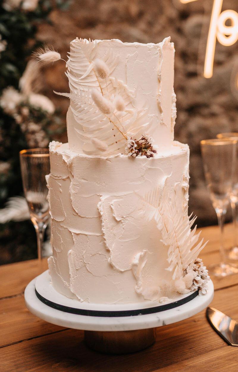 Highland-Hochzeit - Hochzeitstorte