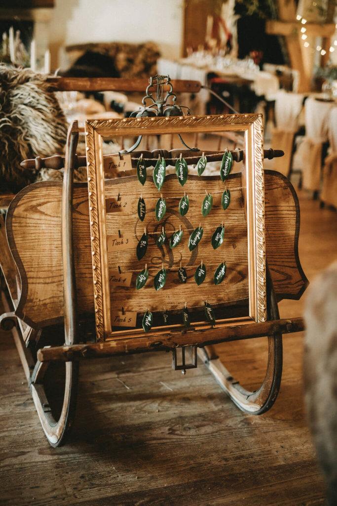 Hochzeitskosten sparen - Tischkarten selbst gemacht
