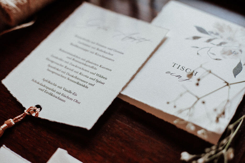 Modern Vintage Wedding - Papeterie