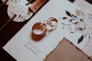 Modern Vintage Wedding - Ringe & Papeterie